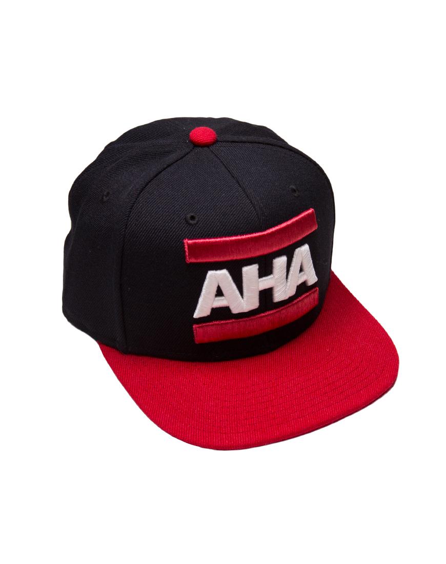 Cap_AHA_schwarz_rot_r