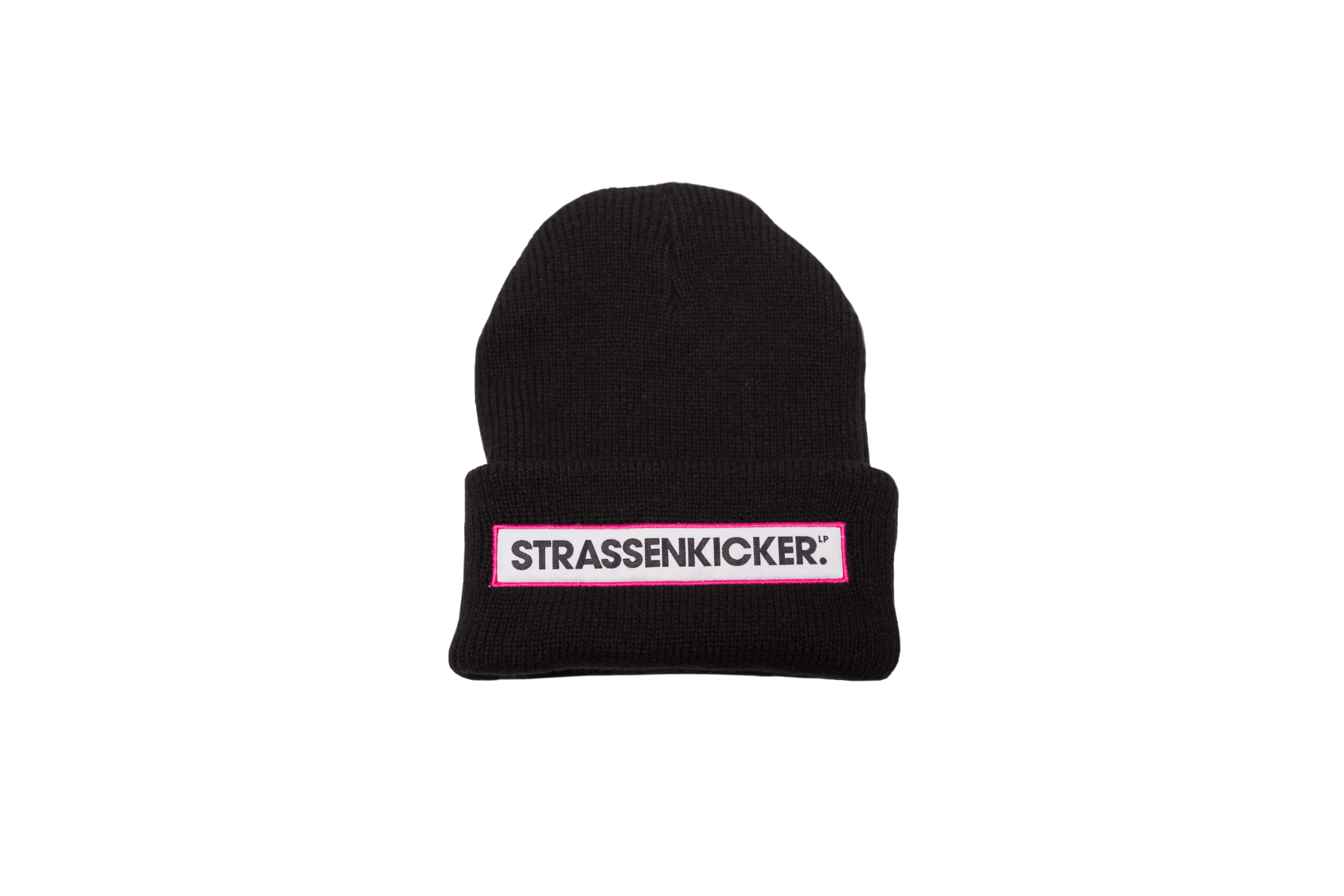 mütze_schwarzpink_strassenkicker